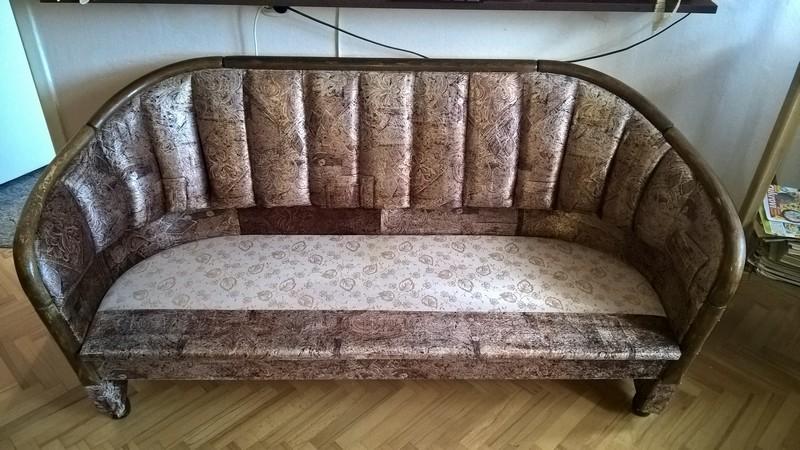 stylová sedačka po vyčištění