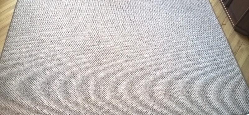 koberec po vyčištění
